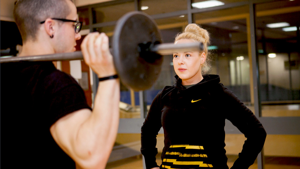 Level 3 personal training course being run at the London YMCA