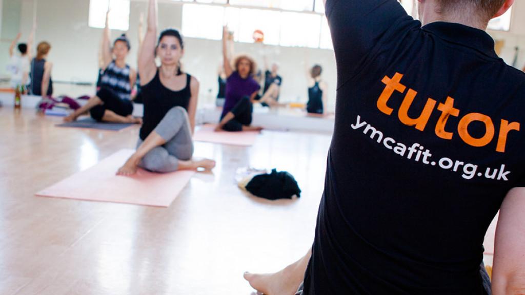 YMCAfit Yoga Instructor Teaching